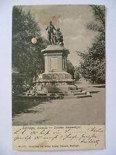 AK Santiago de Chile Alameda - Estatua Amunategui