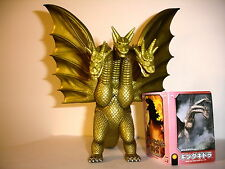 Cyber Sale GODZILLA KING GHIDORAH JAPANESE Bandai Action Figure Retired 2005