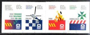 100% De Qualité Australie 2010 Services D'urgence S / Une Bande 4 Fine Utilisé-afficher Le Titre D'origine