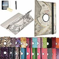 Rotating Leather Case Cover Stand Samsung Galaxy Tab 3 7.0 7 Gt-p3210/sm-t210