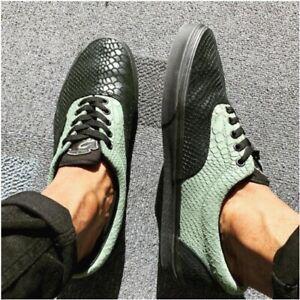 Vans-ERA-Harry-Potter-Slytherin-Black-Men-039-s-Shoes-6-5-Women-039-s-8