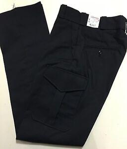 Navy-Blue-Cargo-Pants-Sizes-24-28-Fire-Police-EMS-Uniform-NWT-Elbeco-7024-25