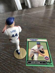 1989 Starting Lineup DAVID CONE MINT LOOSE METS MLB