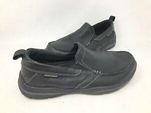NEW-Skechers-Men-039-s-HARPER-FORDE-Slip-On-Dress-Shoes-Black-64858-181M-krk
