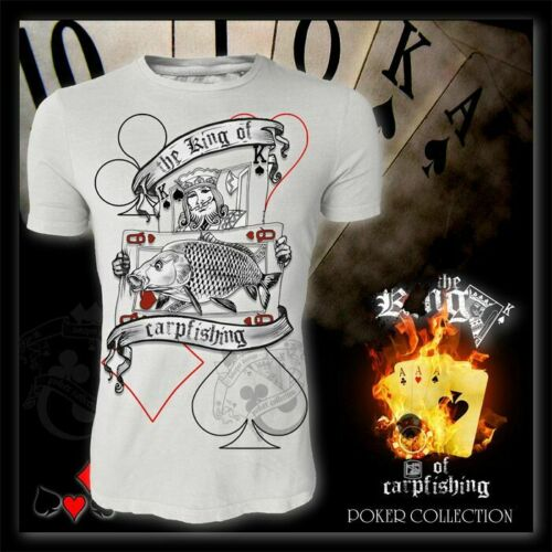 "T-Shirt Hotspot poker collection /""KING OF CARPFISHING/"""