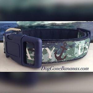 United States Navy Dog Collar
