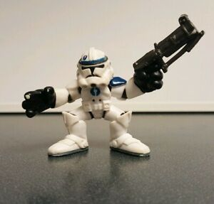 star wars galactic heroes phase 3 blue 501st clone trooper - episode 3 | ebay