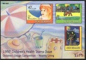 1997-New-Zealand-Health-Unmounted-Mint-M-S-Stamp-Set-UK-Seller