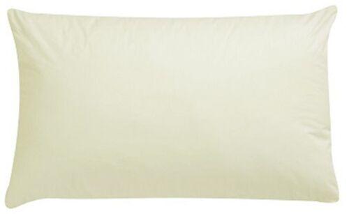 Box Pillow Extra Large Pillowcase Pair Suitable For Large Pillow Cream Colour