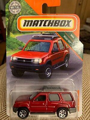 MATCHBOX POWER GRABS #111 /'00 Nissan XTerra 2018 issue NEW in BOX