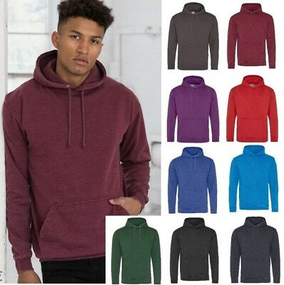 AWDis Men/'s SupaSoft HOODIE Soft Feel Peached Fabric in Many Colour Choices