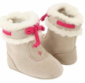 Baby Deer Suede Fur Girl s Infant Toddler Walking Boots