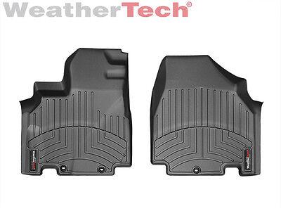 WeatherTech FloorLiner for Honda Odyssey - 2011-2017 - 1st Row - Black