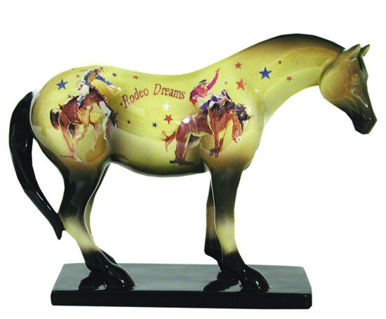 Trail of Painted Ponies RODEO DREAMS FIGURINE Retired, New in Box