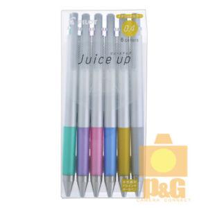 Pilot Juice Up Gel Pen 0.4 mm / Metallic 6 Color Set LJP-120S4S-6CM