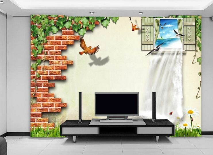 3D Fenster Meer6905 Fototapeten Wandbild Fototapete Bild Tapete Familie Kinder