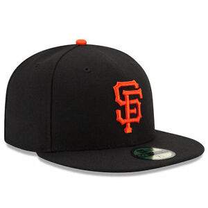 SAN FRANCISCO GIANTS Home New Era 5950 On Field Cap Fitted Game Mens Hat SF