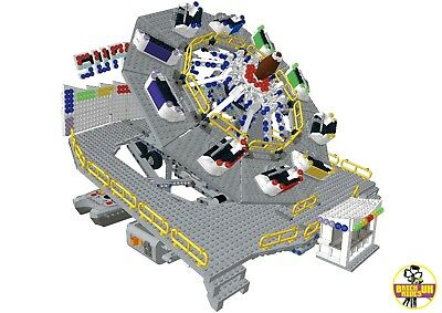 LEGO *Instructions* ONLY of Custom Fairground Ride /'Superstar/' MOC