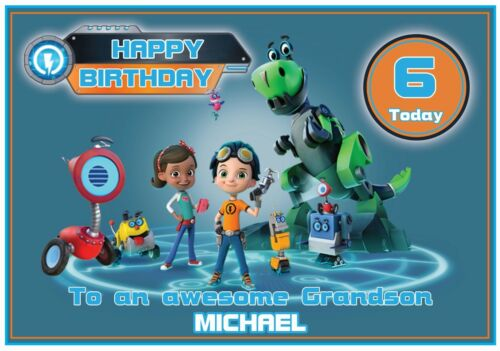 Personalised Rusty Rivets Inspired Birthday Cards 2 Designs Stunning !
