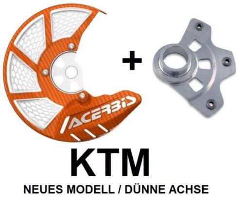 Acerbis discos de freno protección X-Brake 2.0 anbaukit KTM SX SXF EXC
