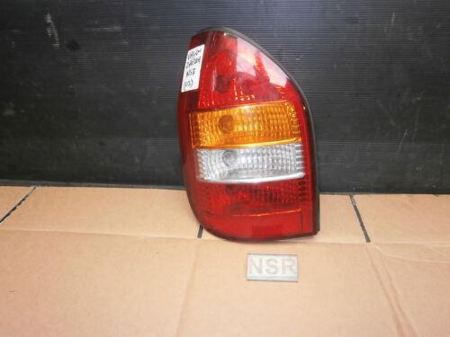 Vauxhall zafira 1999-2002 MK1 raccordement côté passager feu arrière//lumière
