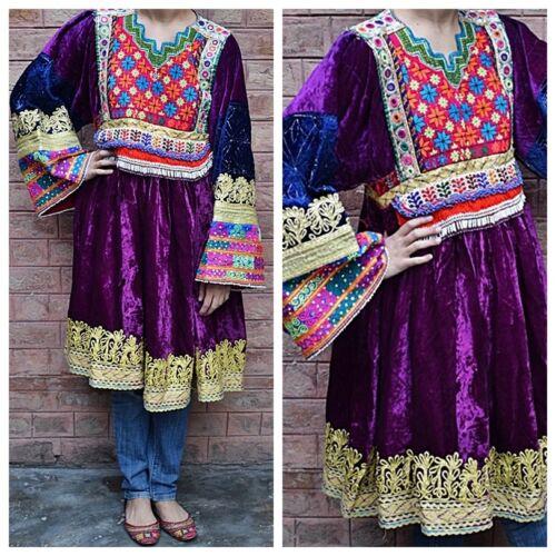 RARE AFGHAN NOMAD VINTAGE DRESS