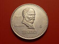 Item 2 Mexico 500 Pesos 1987 Madero