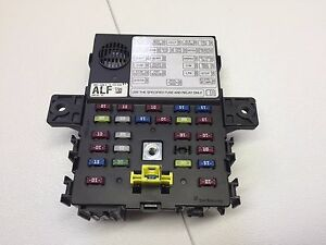 chevrolet spark interior fuse box 9597 4309 a ebay rh ebay com chevrolet spark 2008 fuse box location chevrolet spark fuse box