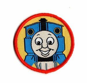 Thomas The Tank Engine Red Sew On Patch Embroidered Badge Cartoon