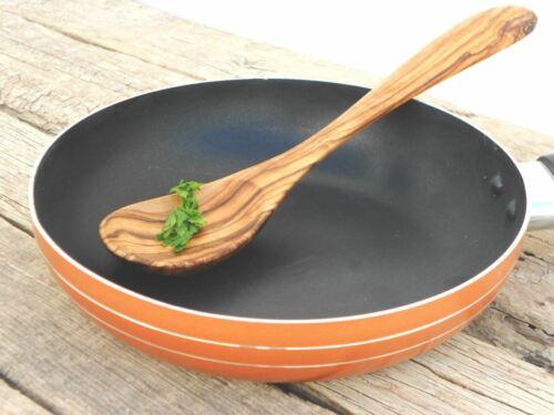 Wooden Rustic Exotic Spoon Utensil Olive Wood Cooking Serving Salad Spoon