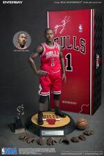 Enterbay 1//6 Derrick Rose/_ Head #2 /_NBA Bulls basketball player star