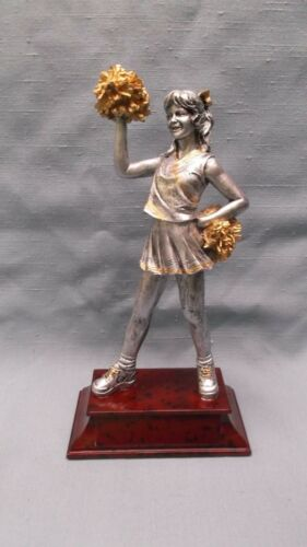 m lot of 10 CHEERLEADING statue trophies resin PDU 57506GS