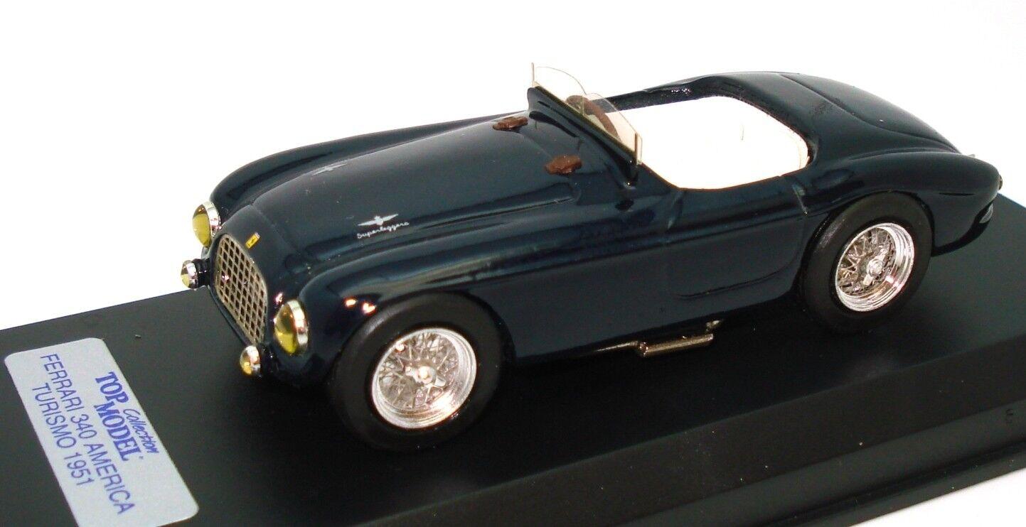 1 43 TOP MODEL FERRARI 340 AMERICA 1951 - MINT BOXED