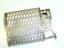 """EVANS """"ROLLER BEARING"""" POCKET LIGHTER - 900 SILVER """"PRIMOSA"""" - 1928-1934- U.S.A."""