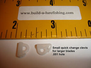Quick change spinner snaps, 2 sizes, Easliy change blades, Lots of 10