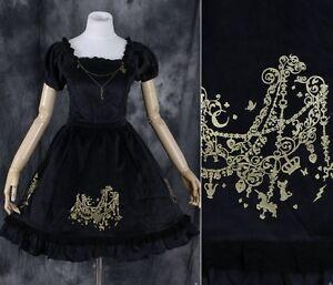 M-05-Velluto-Velvet-Black-gotico-lolita-cosplay-costume-abito-costume