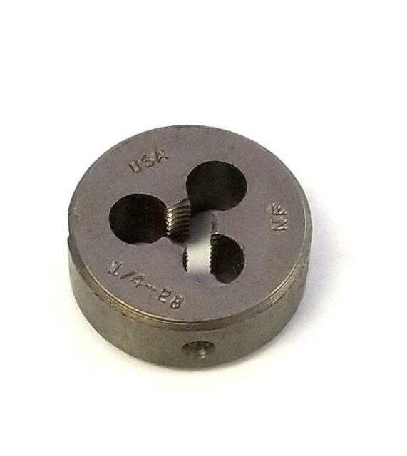 Round Adjustable 2-1//4-18 Split Die HSS New