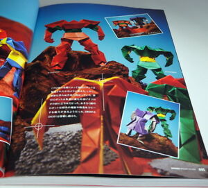 ORIROBO-ORIGAMI-SOLDIER-Paper-folding-Robot-book-from-Japan-Japanese-0950