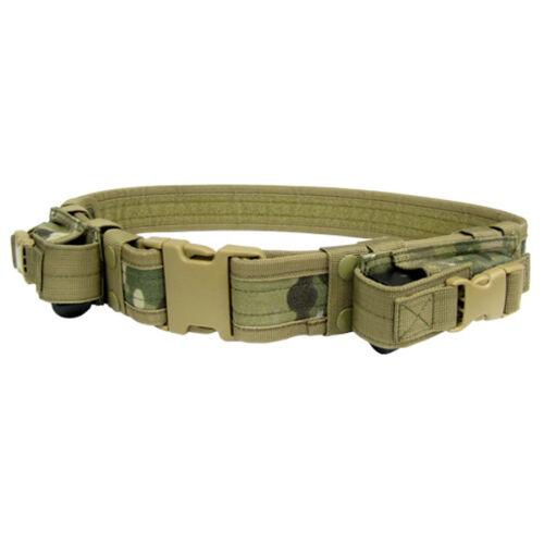 Condor Multicam TB Tactical Combat Police SWAT 2 Pistol Mag Pouch Duty Belt