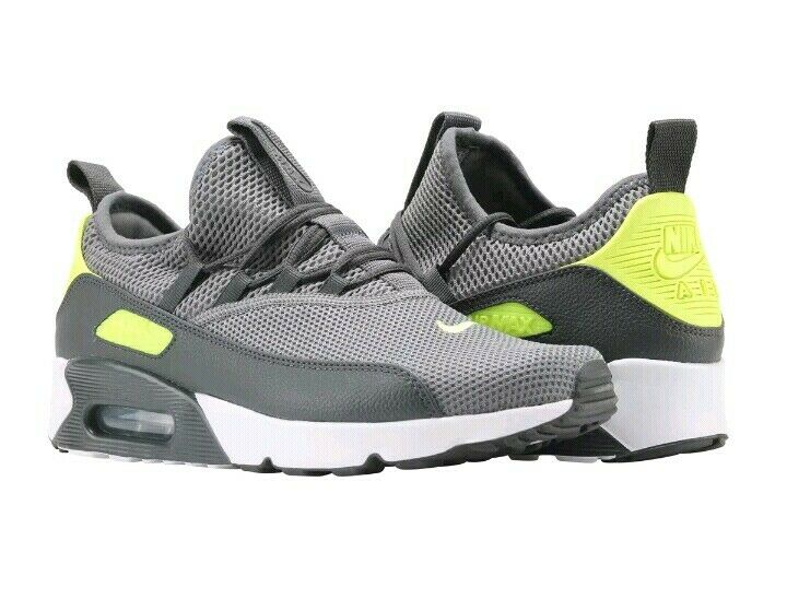 Men's Nike Air Max 90 EZ cool Grey Volt White Anthracite AO1745-003 size US 9.5