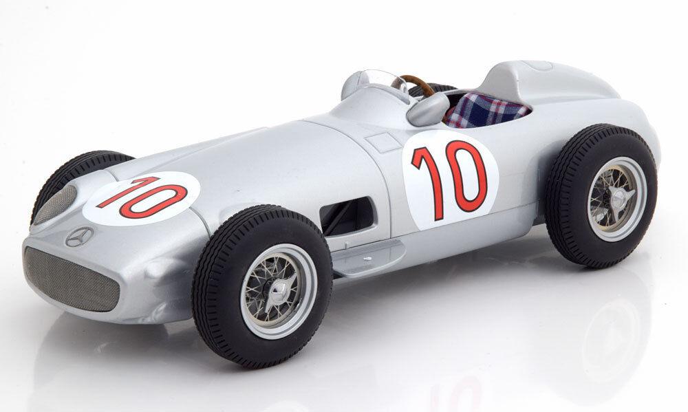 I Scale Mercedes Benz W196 Ganador Gp Bélgica 1955 Campeón Del Mundo Fangio