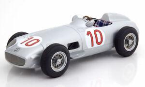 I Scale Mercedes Benz W196 Gagnant Gp Belgique 1955 Champion Du Monde Fangio #