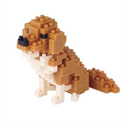 Nanoblock NBC-168 Golden Retrievers 140 piece building toy set
