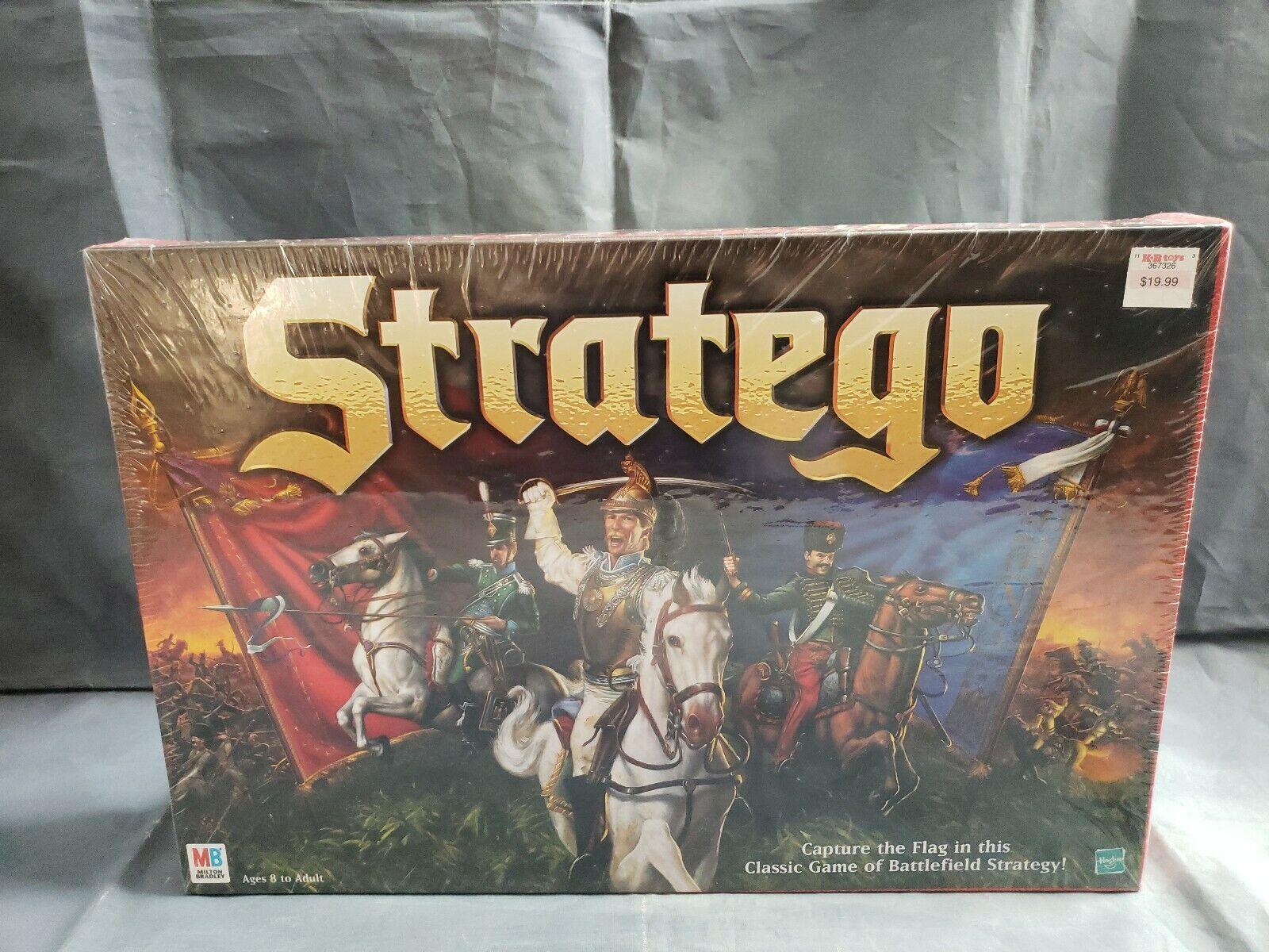 Stratego Board Game 1999 Neuf Scellé classic Battlefield Jeu  de stratégie MB  pas cher et de la mode