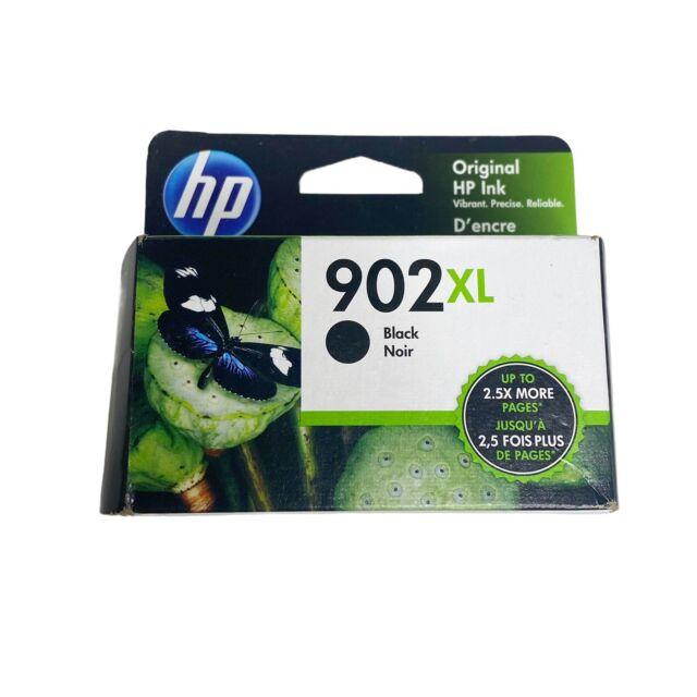 HP ink 902XL Black Ink Cartridge NEW Genuine, High Yield Expires June 2022