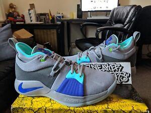 23a8a012c481 Nike PG 2 II Pure Platinum Neo Turquoise Aurora Green Paul George ...