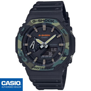 CASIO GA-2100SU-1AER⎪GA-2100SU-1A⎪G-SHOCK Classic⎪CARBON CORE GUARD⎪CAMUFLAJE