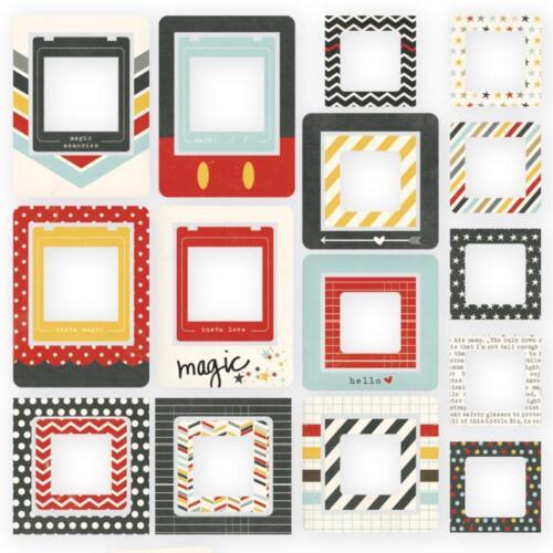 Simple Stories ~ SAY CHEESE II ~ Chipboard Frames ~ Disney