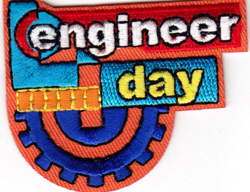 ENGINEER DAY Iron On Patch Engineering