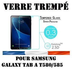 Lot-Pack-Film-Verre-Trempe-Samsung-Galaxy-Tab-A6-10-1-034-SM-T580NZWAXEF